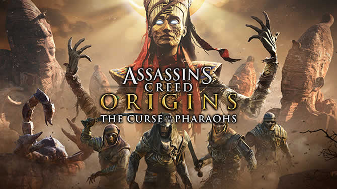 Assassins Creed origins: Trials of the Gods in April