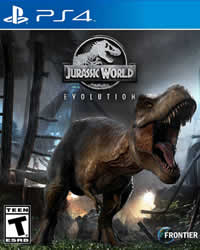 Jurassic World Evolution Game Cover