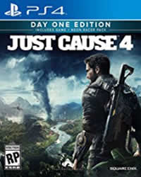 Just Cause 4 Game Cover
