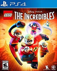 Lego The Incredibles Game Cover