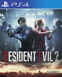 Resident Evil 2 Game Cover