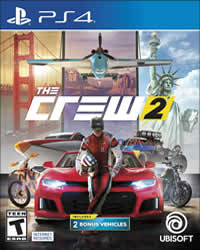 The Crew 2 Game Cover