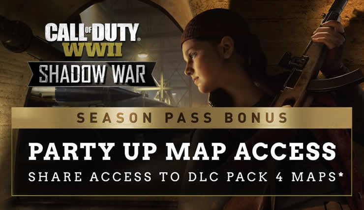 Call of Duty WWII: The Shadow War expansion will be released next week