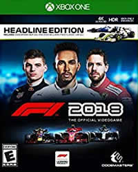 F1 2018 Game Cover