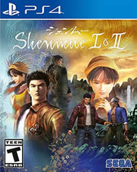 Shenmue Game Cover