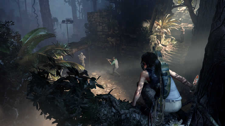 Shadow Of The Tomb Raider Gameplay Video Shows Lara With 4k