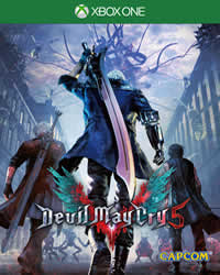 Devil May Cry 5 Game Cover