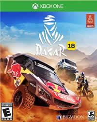 Dakar 18 Game Cover