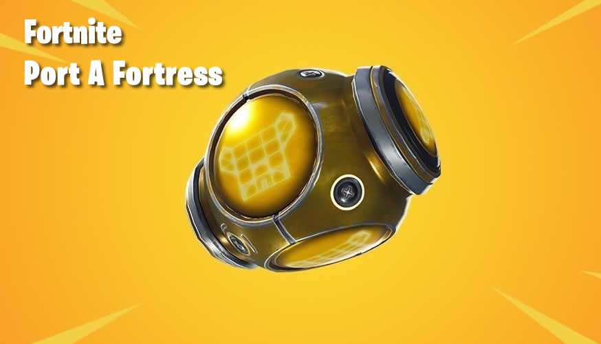 Fortnite brings new item to the end of Season 5: Port-A-Fortress
