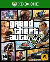 Grand Theft Auto V Game Cover