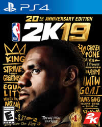 NBA 2K19 Game Cover