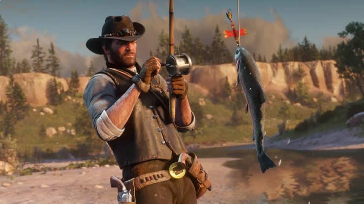 rdr2 fishing