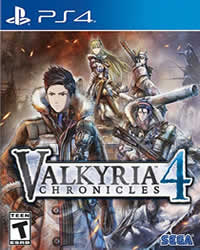 Valkyria Chronicles 4 Game Cover