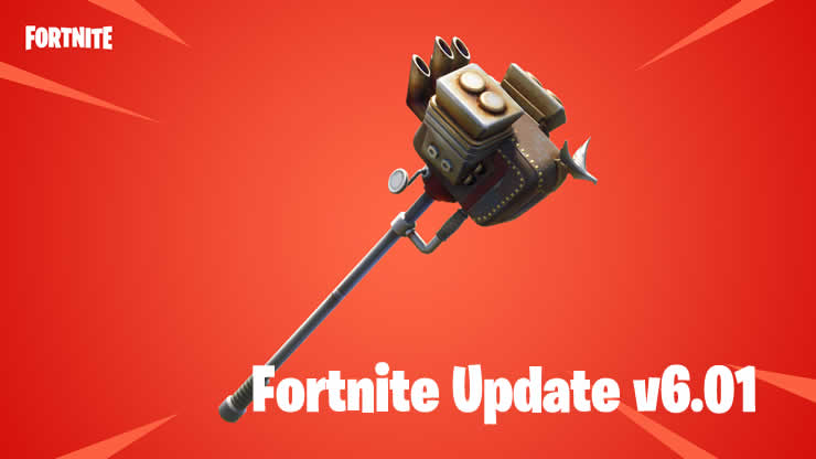Fortnite: Update v6.01 available – Patch Notes 1.82