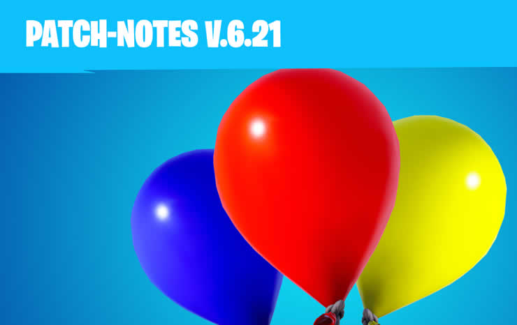 Fortnite: Patch 1.89 released – All details about update 6.21 in changelog