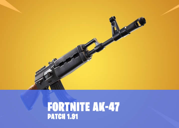 The next, new weapon in Fortnite: Heavy assault rifle AK-47
