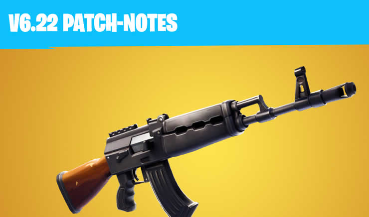 Fortnite: Update 6.22 – Patch Notes 1.91 available