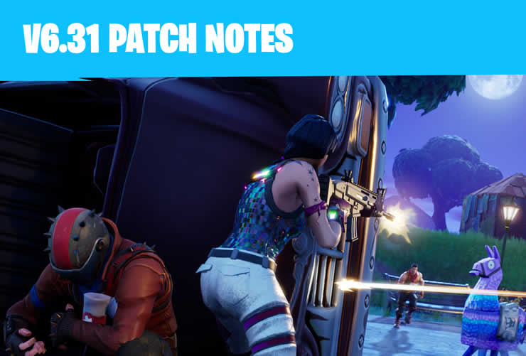 Fortnite: Patch Notes 1.93 available – Update 6.31 has been released