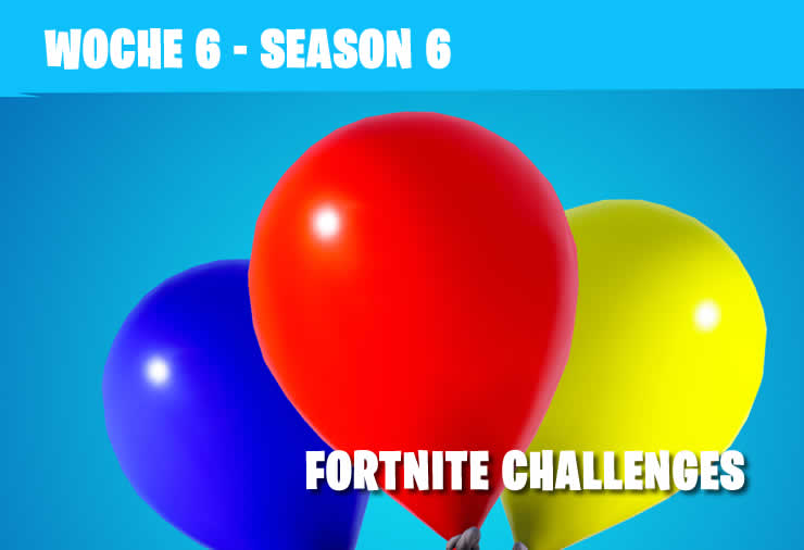 Fortnite: Season 6 Week 6 – All Challenges