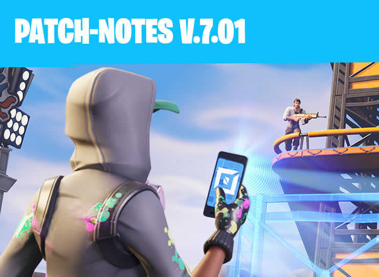Fortnite: Patch Notes 1.96 – Update 7.01 released