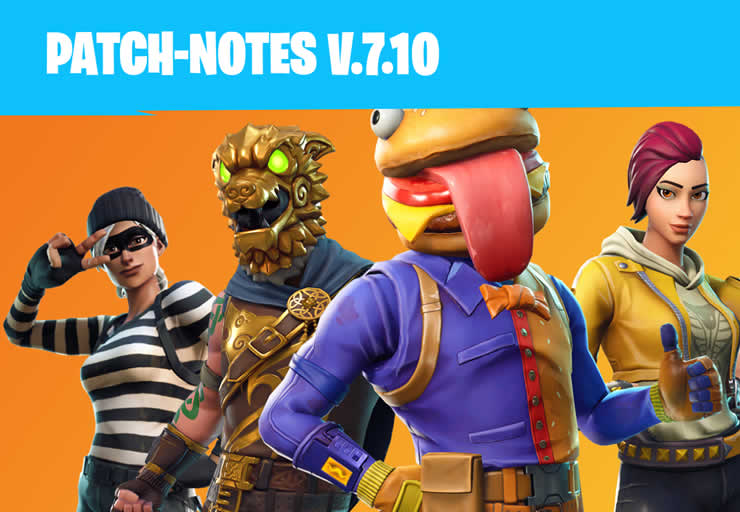 Fortnite Update 7 10 Released Patch Notes 1 97