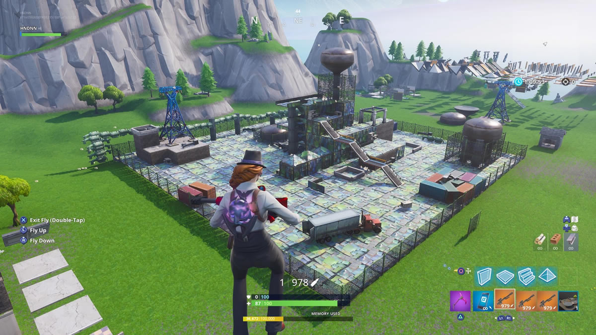 Fortnite: Players build maps from Call of Duty