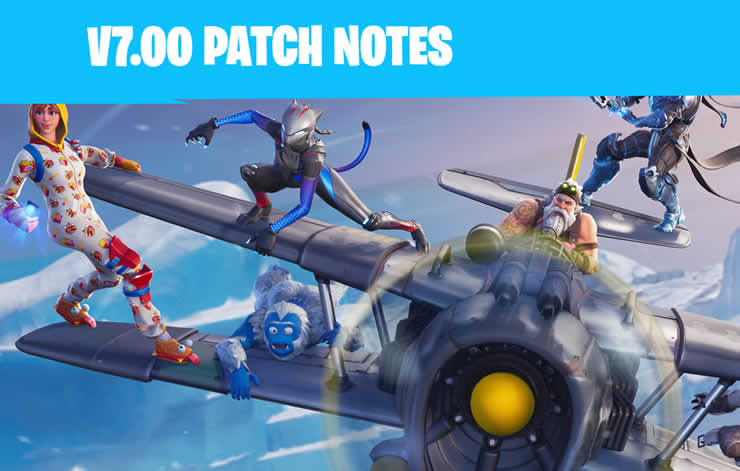 Fortnite: Patch Notes 1.94 released – Update 7.00