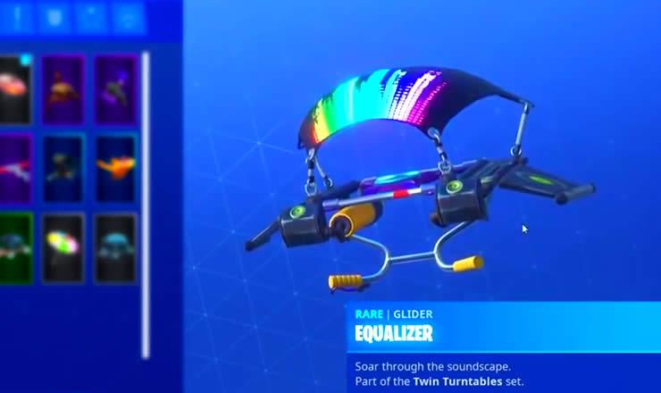 Equalizer Glider Fortnite