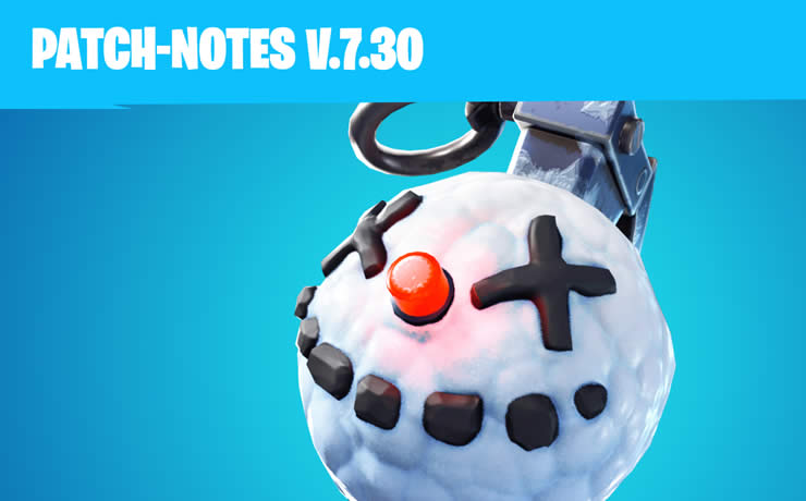 Fortnite Update 7.30 released – Patch Notes 2.0 Available