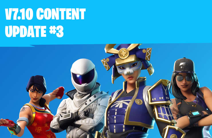 Fortnite Patch Notes 7.10.3 – Content Update has been released