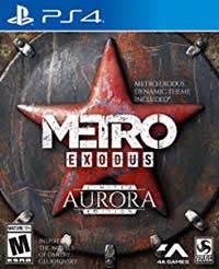 Metro Exodus Game Cover