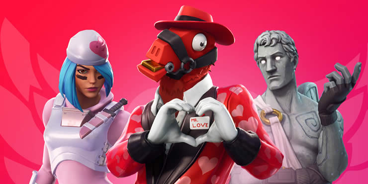 the new fortnite update 7 4 brings new content today on the 14th of february to do this fortnite s servers will be offline on all platforms pc mac - offline fortnite servers