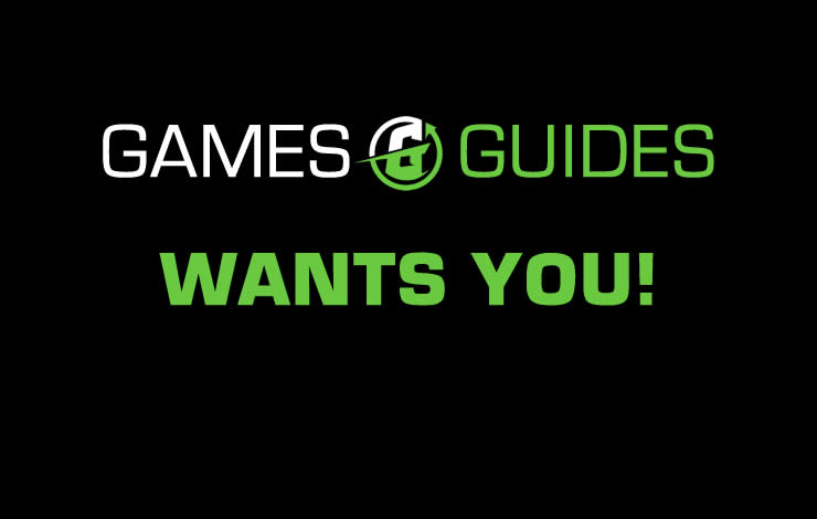 Games Guides is searching for Supporters / Authors