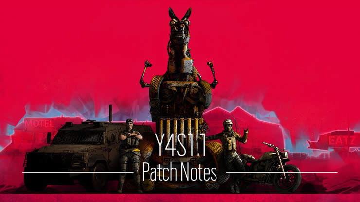 Rainbow Six Siege: Patch Notes 4.1.1 – Update Version 1.64