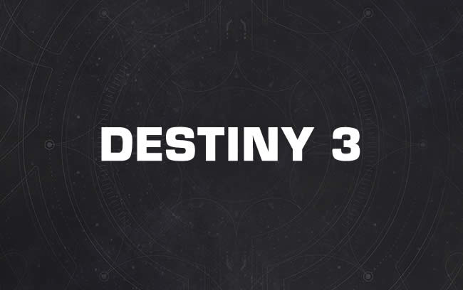 Destiny 3 comes in 2020 for the PS5 and new Xbox