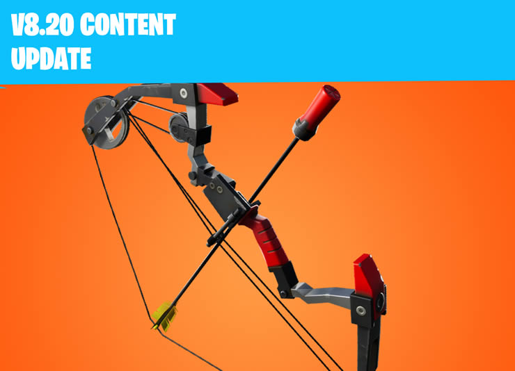 Fortnite Patch Notes April 2 – Content Update 8.20