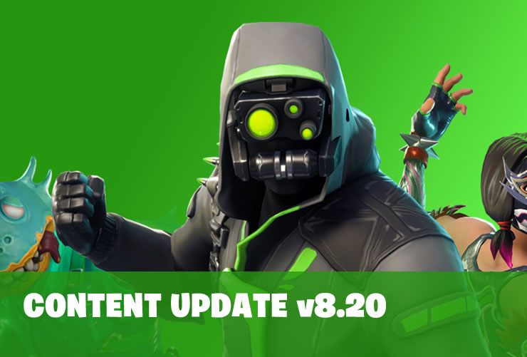 Fortnite Content Update 8.20  will be released April 2nd – Explosive Bow