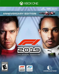 F1 2019 Game Cover