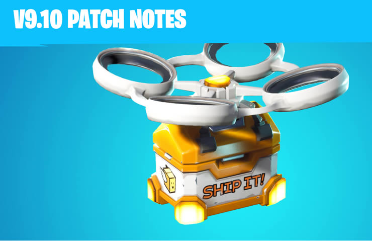Fortnite Patch Notes 2.22 – Update v9.10 for all Platforms