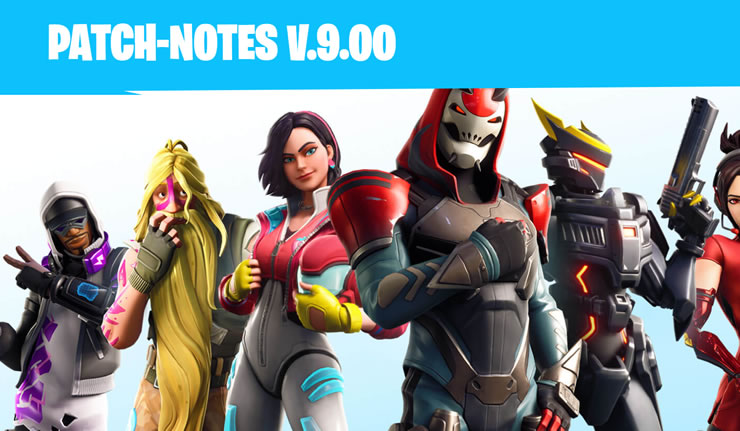 Fortnite Season 9 is Live - These are the Patch Notes