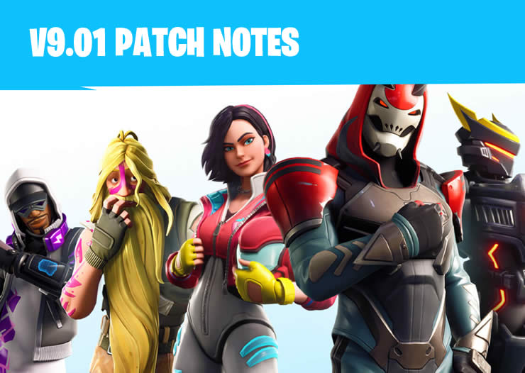 Fortnite Update 9.01 Patch Notes 2.21 – Tactical Assault Rifle has been added