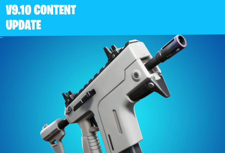 Fortnite Content Update 9.10 Patch Notes of May 29th