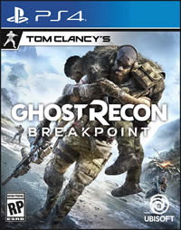 Ghost Recon Breakpoint Game Cover