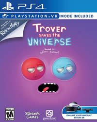 Trover Saves the Universe Game Cover