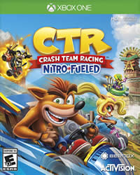 Crash Team Racing Nitro Fueled Game Cover