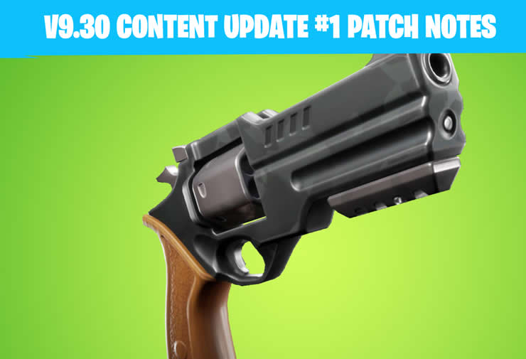 Fortnite 9.30 Content Update – Patch Notes of June 25