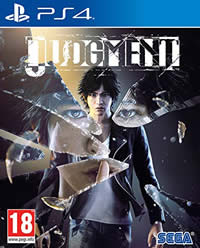 Judgment Game Cover