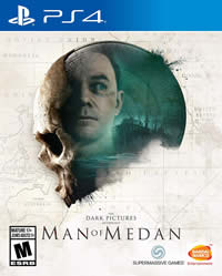 The Dark Pictures: Man of Medan Game Cover