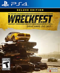 Wreckfest Game Cover