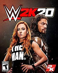WWE 2K20 Game Cover